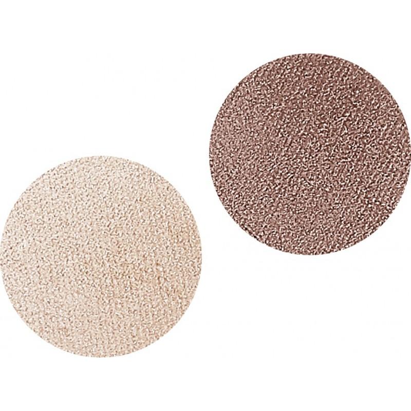 Тени для век компактные двухцветные DUETTO ELEGANTE 02