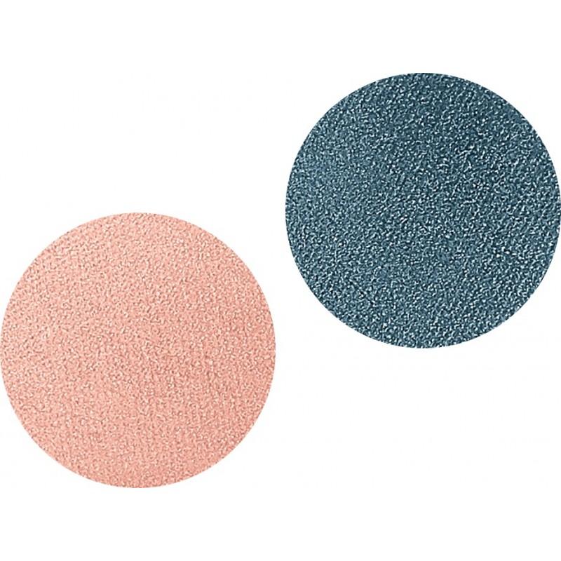 Тени для век компактные двухцветные DUETTO ELEGANTE 08